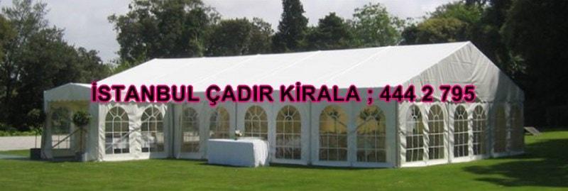 İstanbul çadır kiralama firmaları fiyatları