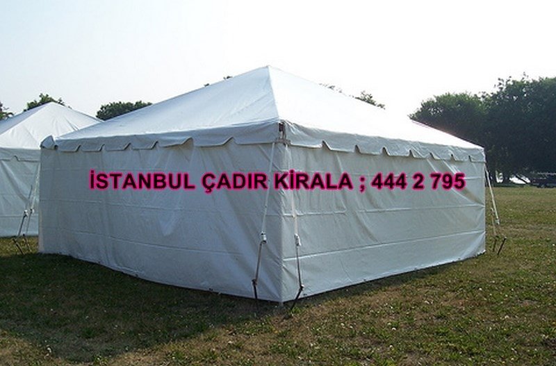 İstanbul çadır kiralama fiyatları