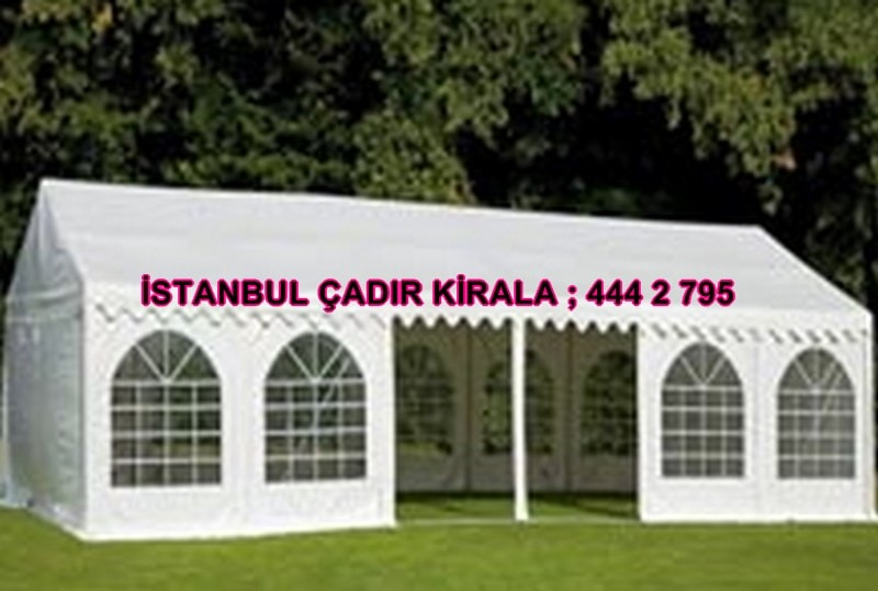 İstanbul Fuar Çadırı kiralama